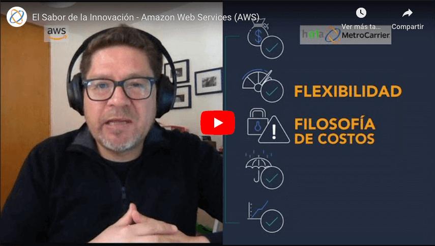 El Sabor de la Innovación - Amazon Web Services (AWS)