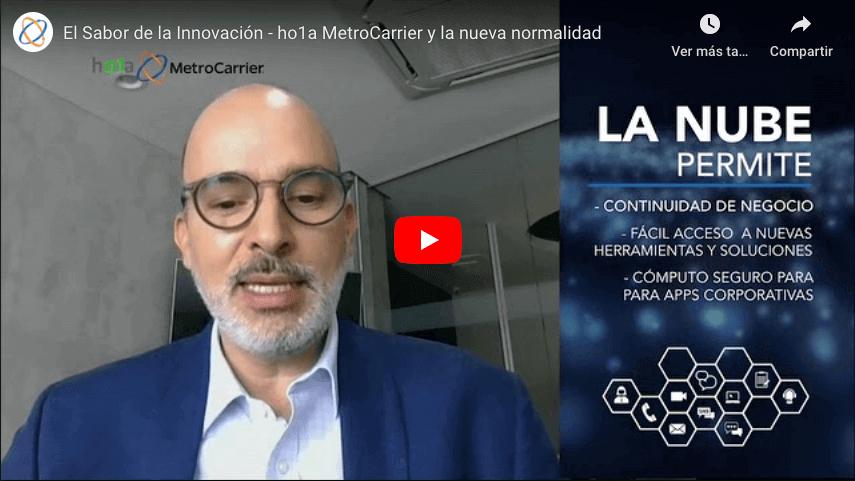 El Sabor de la Innovación - ho1a MetroCarrier y la nueva normalidad